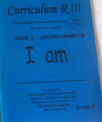 BLUE BOOK - GRADE R